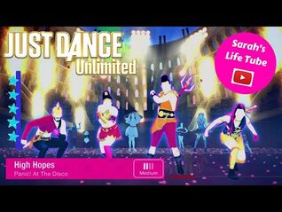 High Hopes, Panic! At The Disco - SUPERSTAR - Gameplay - Just Dance 2020 Unlimited -PS5-