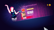 Justdance jd2014 score