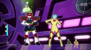 PS4 舞力全开2015 (44)Nitro Bot -Sentai Express 五星评价 舞梦成真
