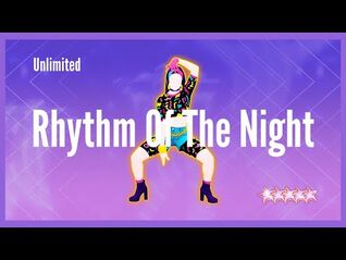 Just Dance 2021 (Unlimited) - Rhythm Of The Night