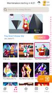 Dontknowme jdnow menu phone 2020