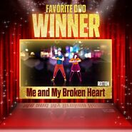 Justdanceawards favoriteduo winner