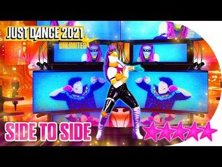 Just Dance 2021 (Unlimited)- Side to Side - 5 stars