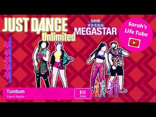 Tumbum, Yemi Alade - MEGASTAR, 2-2 GOLD, P3 - Just Dance 2018 Unlimited -PS5-
