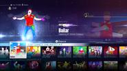Bailar jd2016 menu