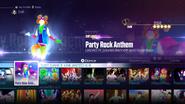 Partyrock jd2016 menu