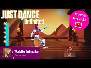 Walk Like An Egyptian, The Bangles - 5 STARS - Gameplay - Just Dance 2 Unlimited -WiiU-