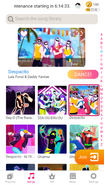 Despacito jdnow menu phone 2020