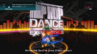 The Hip Hop Dance Experience Intro and Credits