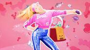Barbie score card cover