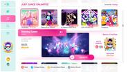 Dancingqueen jd2020 menu