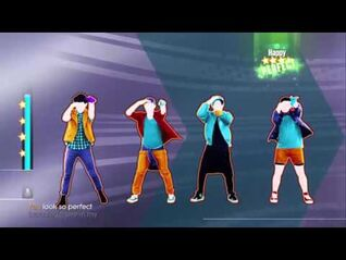 Just Dance 2015 - She Looks So Perfect