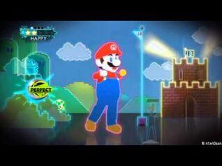 -Just Dance 3- Ubisoft meets Nintendo - Just Mario