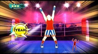 Just Dance Greatest Hits (Wii) - Eye of the Tiger - 5 stars