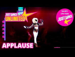 Applause, Lady Gaga - MEGASTAR, 3-3 GOLD - Just Dance 2014 Unlimited -PS5-