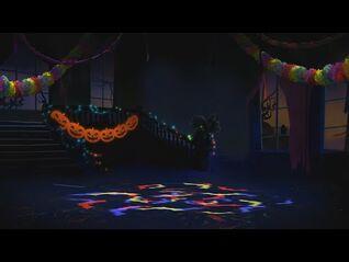 Time Warp background - Just Dance 4
