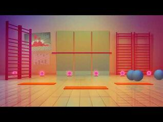 What You Waiting For? (sweat mashup) background - Just Dance 3 (Wii-PS3)