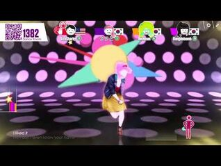 Just Dance Now- I Kissed a Girl by Katy Perry (5 stars)