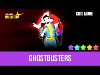 Just Dance 2018 (Unlimited) - Ghostbusters - Kids Mode