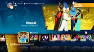 Princeali jd2018 menu