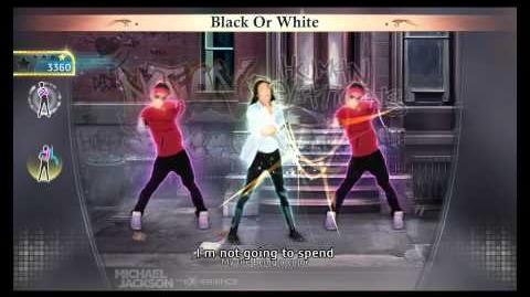Black Or White - Michael Jackson The Experience (PS3)