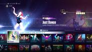 Justdance jd2016 menu