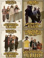 Discoclub flyers