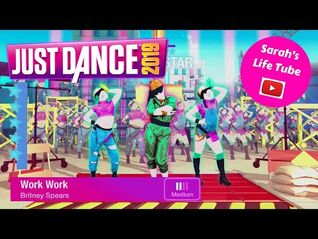 Work Work, Britney Spears - SUPERSTAR - Gameplay - Just Dance 2019 -WiiU-