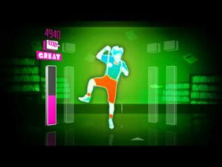 Just Dance 1 wii - Jerk it Out - Full Version