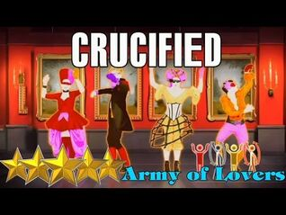 🌟 Just Dance 4- Crucified - Army Of Lovers - Best Dance Music 🌟