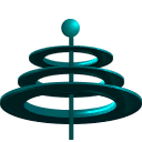 Machine raceline antena back