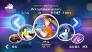 Mickey jdwii menu