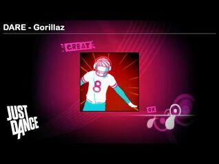 DARE - Gorillaz - Just Dance 1