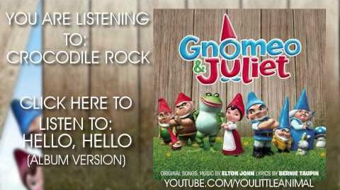 Nelly Furtado & Elton John - Crocodile Rock (Full Song HQ) (Gnomeo & Juliet Soundtrack)