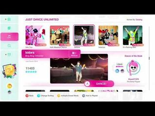 Just Dance 2020 (Unlimited) Isidora 5*'s Gameplay