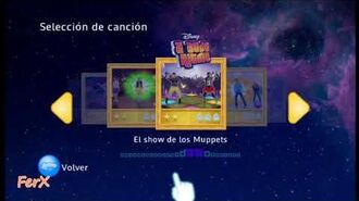 Just Dance Disney Party - Song List SPA