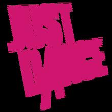 Justdance pink logo.png