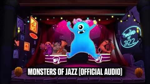 Monsters Of Jazz (Official Audio) - Just Dance Music