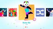 Waterme jd2020 kids menu