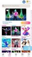 Blindinglights jdnow menu phone