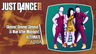 Gimme! Gimme! Gimme! (A Man After Midnight) (On-Stage) - Just Dance 2018