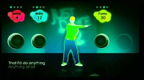JustDance 2 - Sam special choregraphies