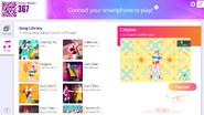 Calypso jdnow menu computer 2020
