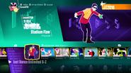 Stadiumflow jd2018 menu