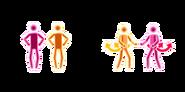 Patapata jd3 pictogram color comparison