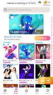 Blue jdnow menu phone 2020