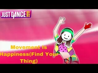 Just Dance 2019 - Movement Is Happiness(Find Your Thing) by Avishay Goren and Yossi Cohen - 5 Stars