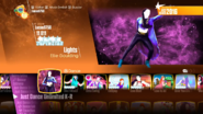 Lights jd2018 menu