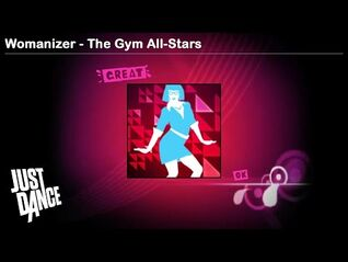 Womanizer - The Gym All-Stars - Just Dance 1