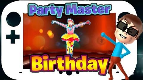 Just Dance 2015 Birthday Party Master 5* Stars